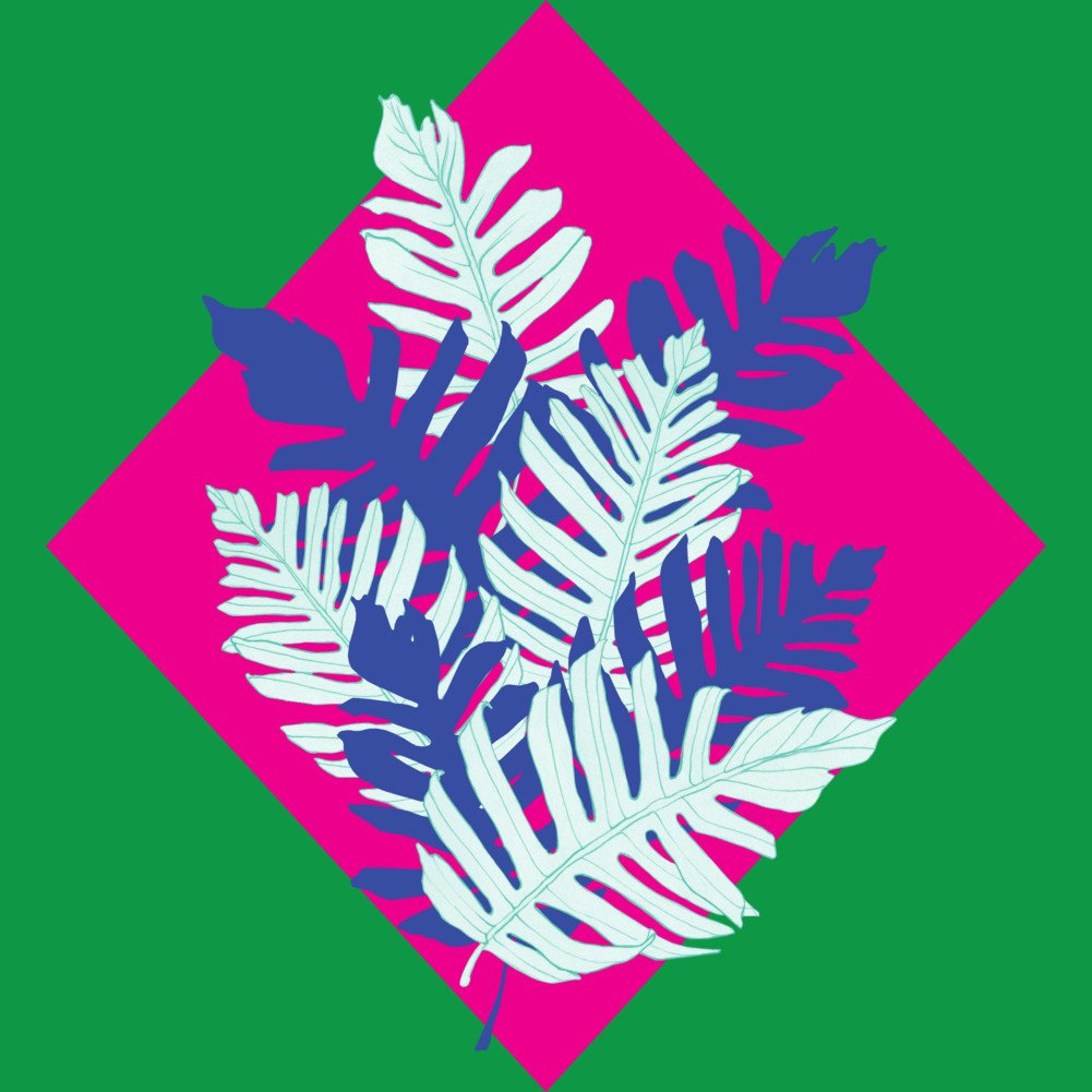 Tropical Leaves Boys Youth Graphic T Shirt Design By Humans