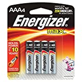 Health & Personal Care : Energizer Max Alkaline AAA Batteries, 4 Count