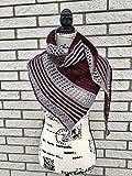 Merino Wool Handknit Shawl