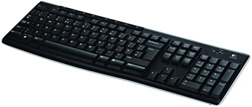 Logitech Wireless Keyboard K270 - UK layout