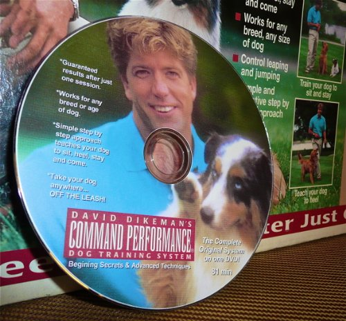 David Dikeman's Command Performance Dog Training System (20th Anniversary Edition DVD) (Dvd Dog Performance)