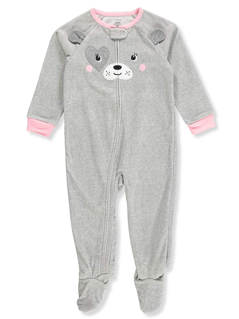 Carters Pajamas Size 24M Toddler Boys 1 Piece Fleece Footed 24 Months Baby
