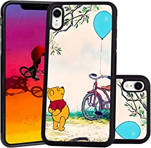 DISNEY COLLECTION Winnie The Pooh Design for Apple iPhone Xr (2018) 6.1-Inch Case Soft TPU and PC Tired Case Retro Stylish Classic Cover
