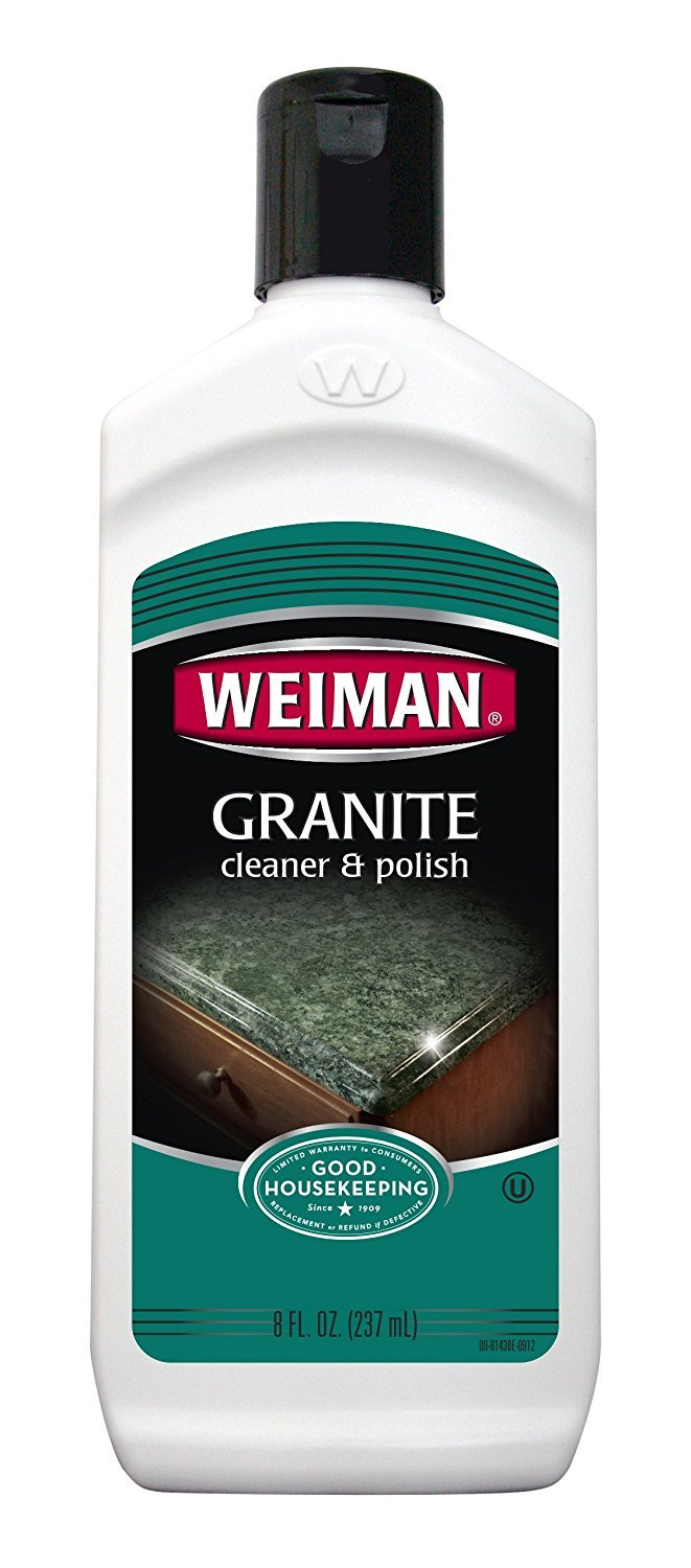 Weiman Granite Cleaner & Polish 8Oz (Kosher For Passover) Pack of 2 by WeimanGranit