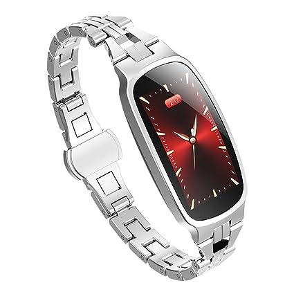 FANZIFAN Reloj Inteligente Smart Watch Women 2019 Prueba de ...