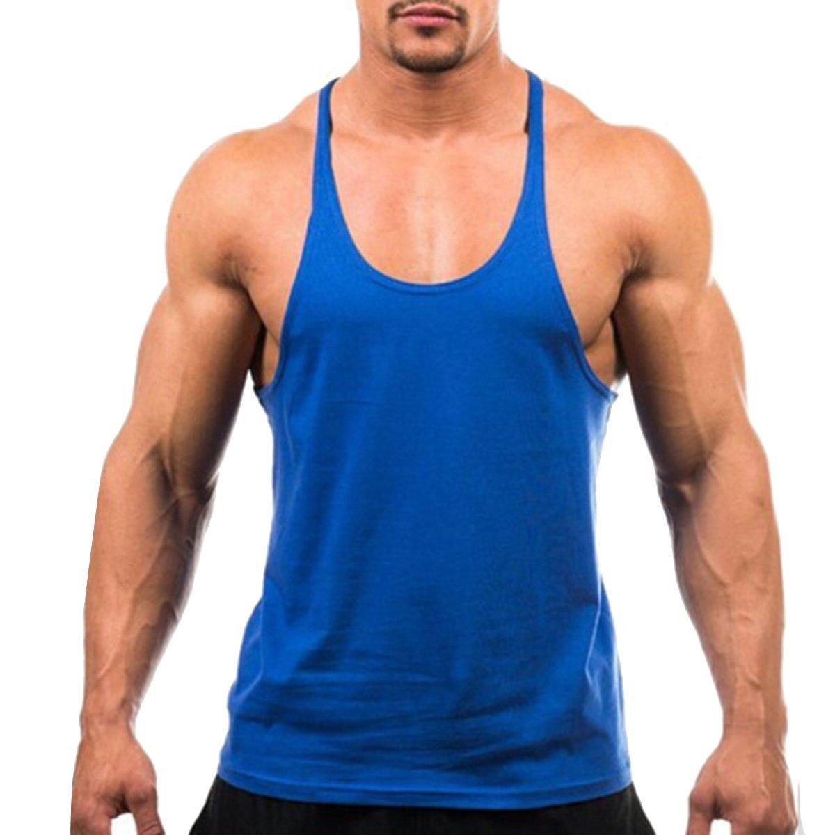 Butterme Mens assorbimento dellumidit/à Y Indietro Allenamento maglia di basket Canotta Canotta Stringer maniche Gym T Shirt
