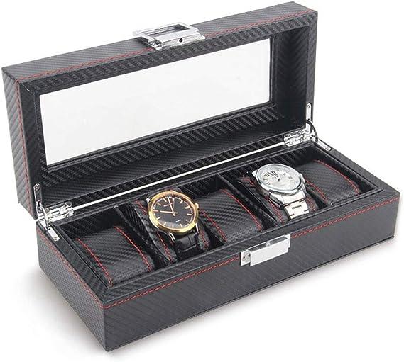 0LL Estuche para Relojes Caja con 5 Compartimentos para Relojes ...