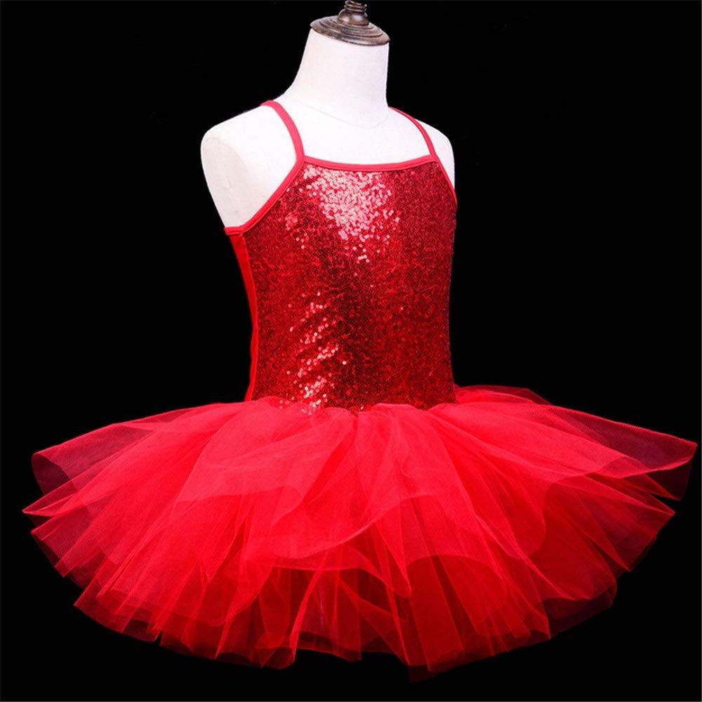 Kids Ballroom Lyrical Latin Ballet Dancwear Tutu Dress Girls Ballerina Dance