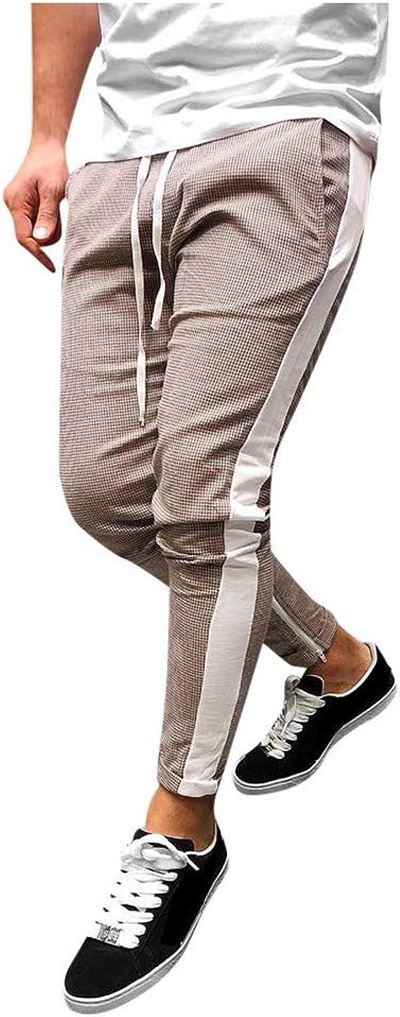 Pantalones Largos Para Hombre Moda Hombres Deporte Camuflaje Correas Correa Casual Suelto Pantalones De Chandal Pantalon Bolsas Para Botellas