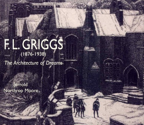 F.L. Griggs (1876-1938):The Architecture of - 1876 Antique Engraving