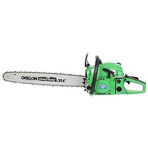 Turner Tools TT 2258 22 1700W Petrol Chain Saw (Green:Orange)