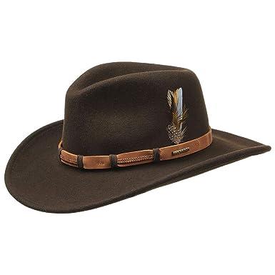 9d7fd5f5ec7 Stetson Clanton VitaFelt Western Hat wool felt hats felt hats (XL 60 ...