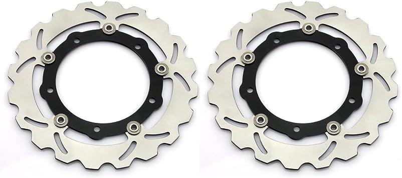 TARAZON Disques de frein avant 2 pi/èces pour Yamaha T-Max XP 530 2012 2013 2014 2015 YP125R YP250 ABS Sport