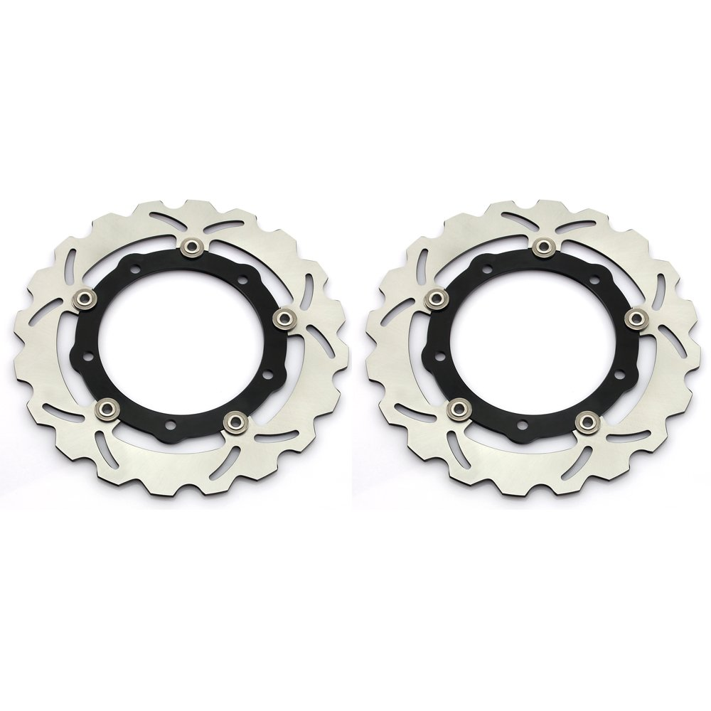 1 Pair Front Brake Rotors for Yamaha T-Max XP 530 2012 2013 2014 2015 YP125R YP250 ABS Sport by TARAZON (Image #1)