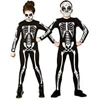 Kids Unisex Skeleton Jumpsuit Halloween Fancy Dress