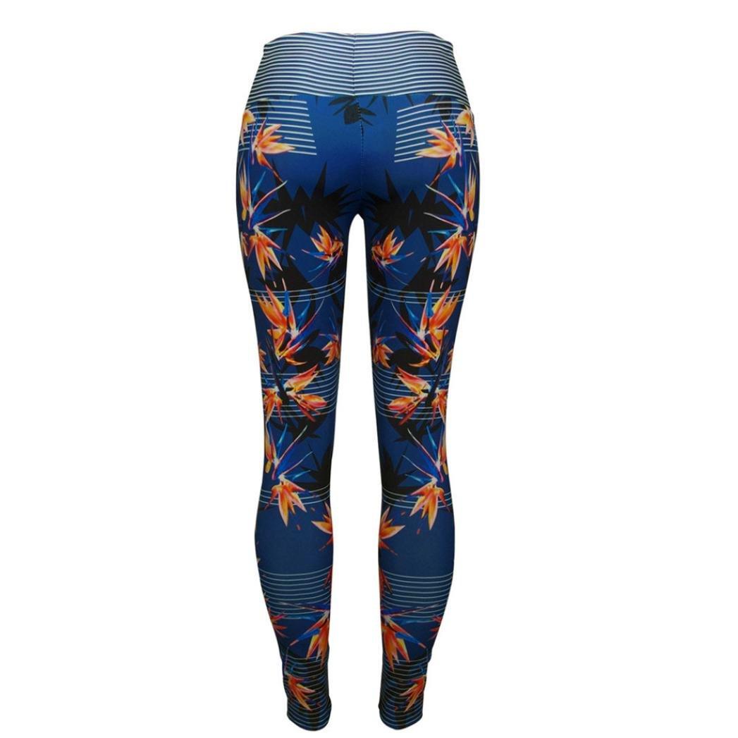 Sannysis Damen Sport Gym Yoga Laufen Fitness Leggings Hose
