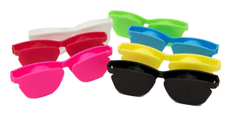 Estuche de viaje de almacenamiento de lentes de contacto con tapa Funda plana Optishade caja de compra a granel Cantidad 3 colores de mezcla: Amazon.es: Salud y cuidado personal