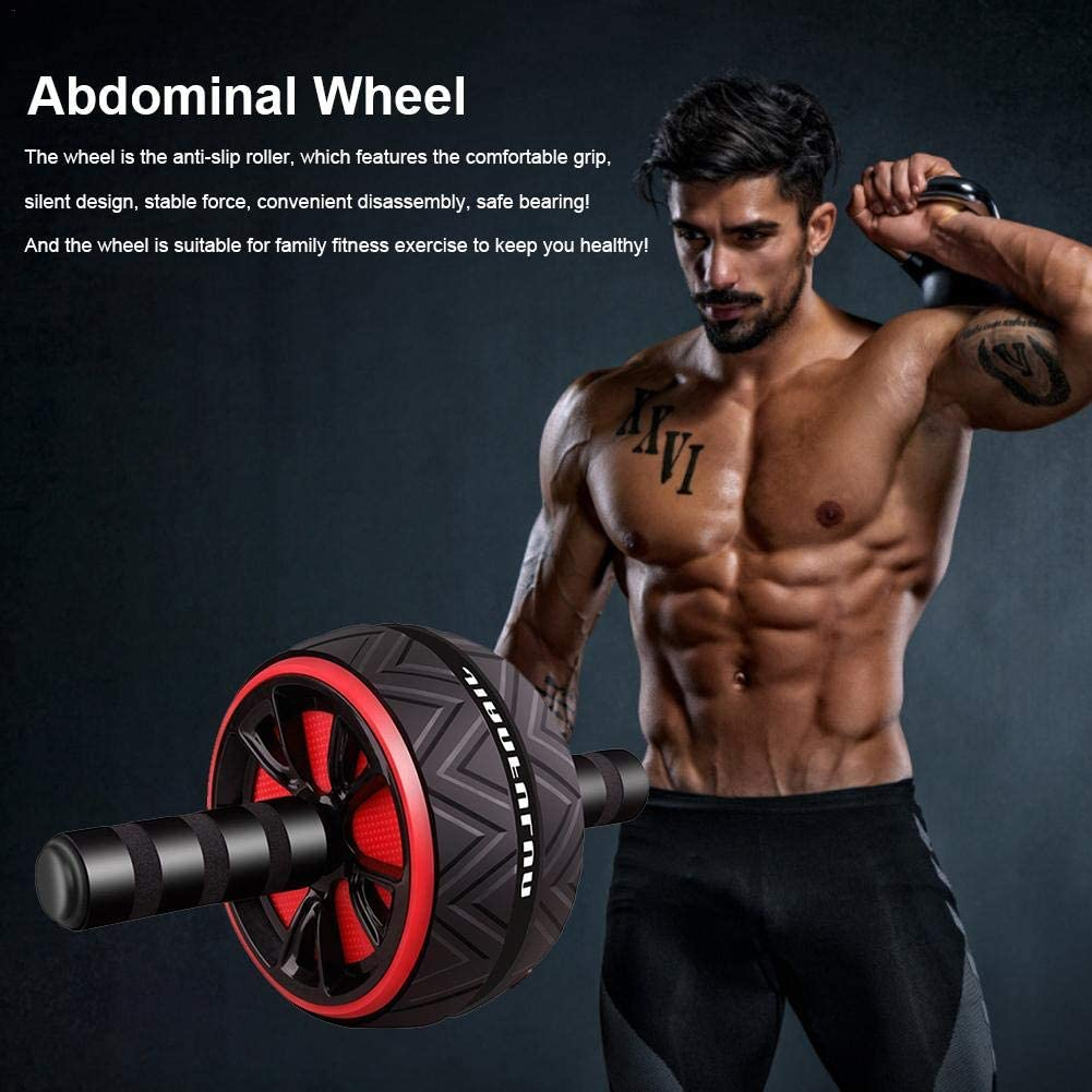 AB Workout Equipment for Abdominal Exercise for Men /& Women Robuste AB Roller Wheel Exercise Equipment pour Core Workout Home Gym Yunt-11 AB Roller pour Abs Workout