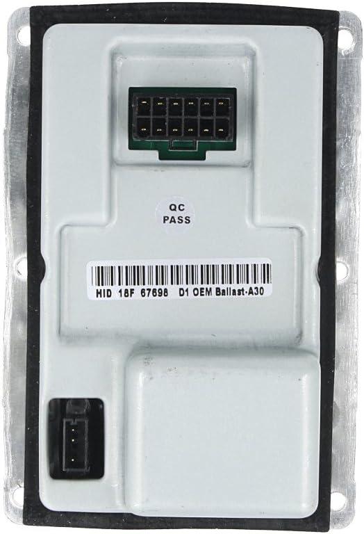 Carall Xb1807 Ballast Xenon Vorschaltgerät Kompatibler Valeo Lad5g 12 Poliger Oem 89027878 89027879 Auto
