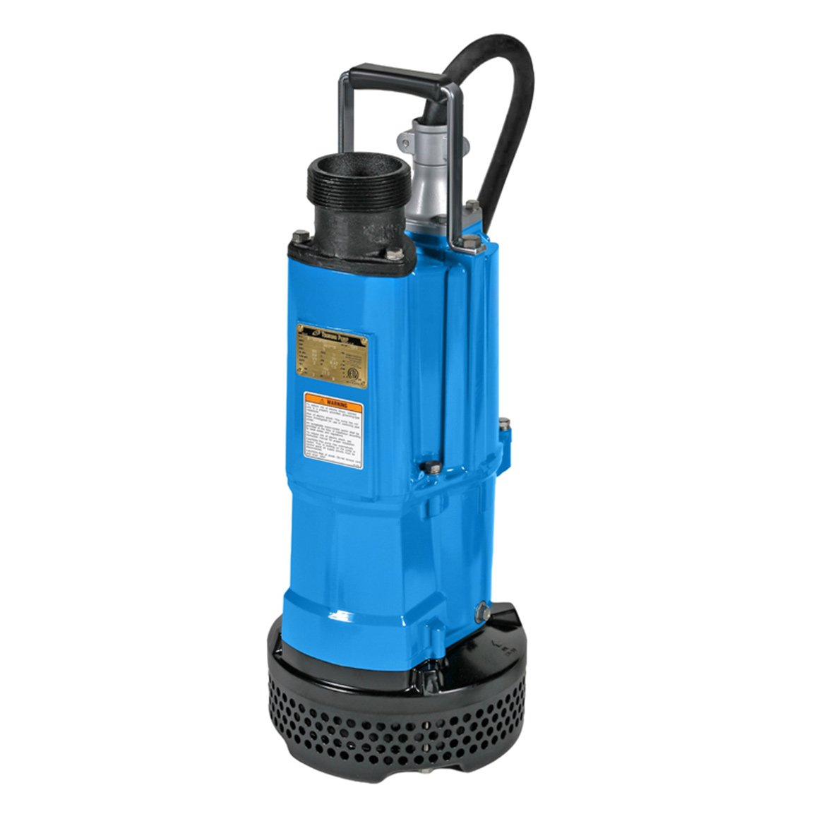 Tsurumi NK3-22; heavy duty submersible dewatering pump, 3hp, 220V, 3'' discharge