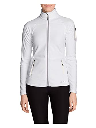 Eddie Bauer Women s Cloud Layer Pro Fleece Full-Zip Jacket at Amazon ... a2efa65b4