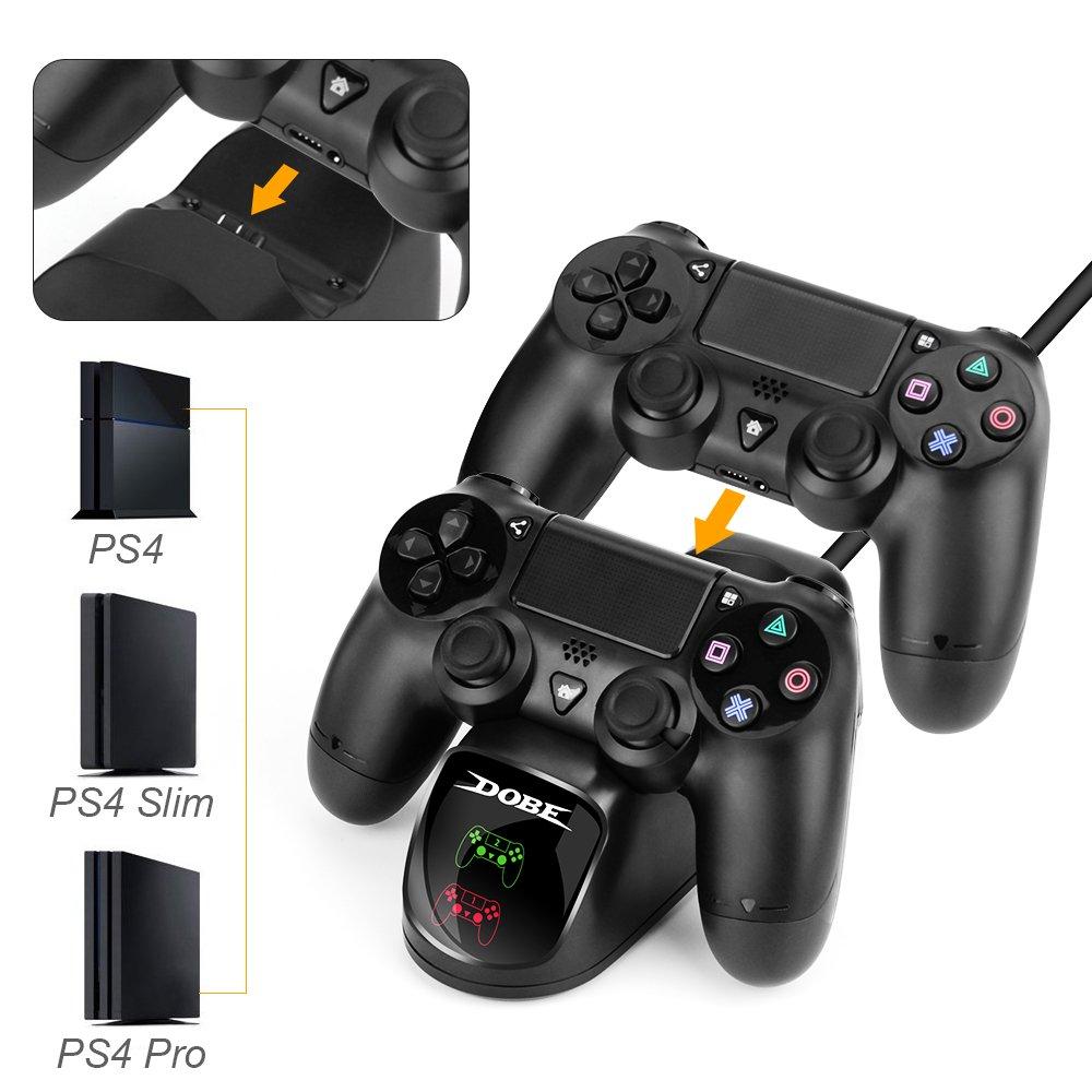 Cargador Mando PS4 Hydream, Estación de carga DualShock 4 ...