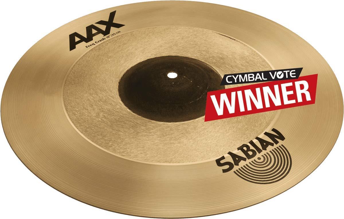 Sabian AAX 18'' Freq Crash Cymbal by Sabian