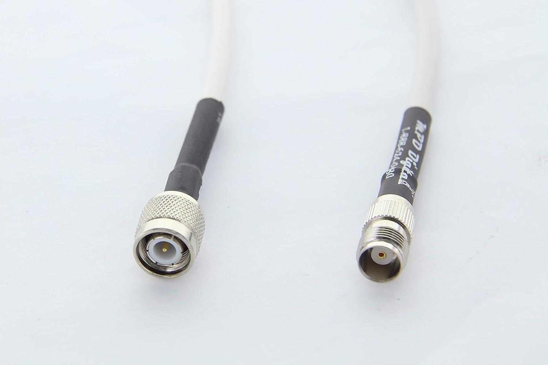 30 feet RF Coax Coaxial Connector Adapter RG58 BARE cable NO CONNECTORS MIL C17