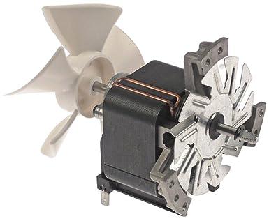 ACP - Motor de ventilador para microondas MCE14, ACE14, eje ...