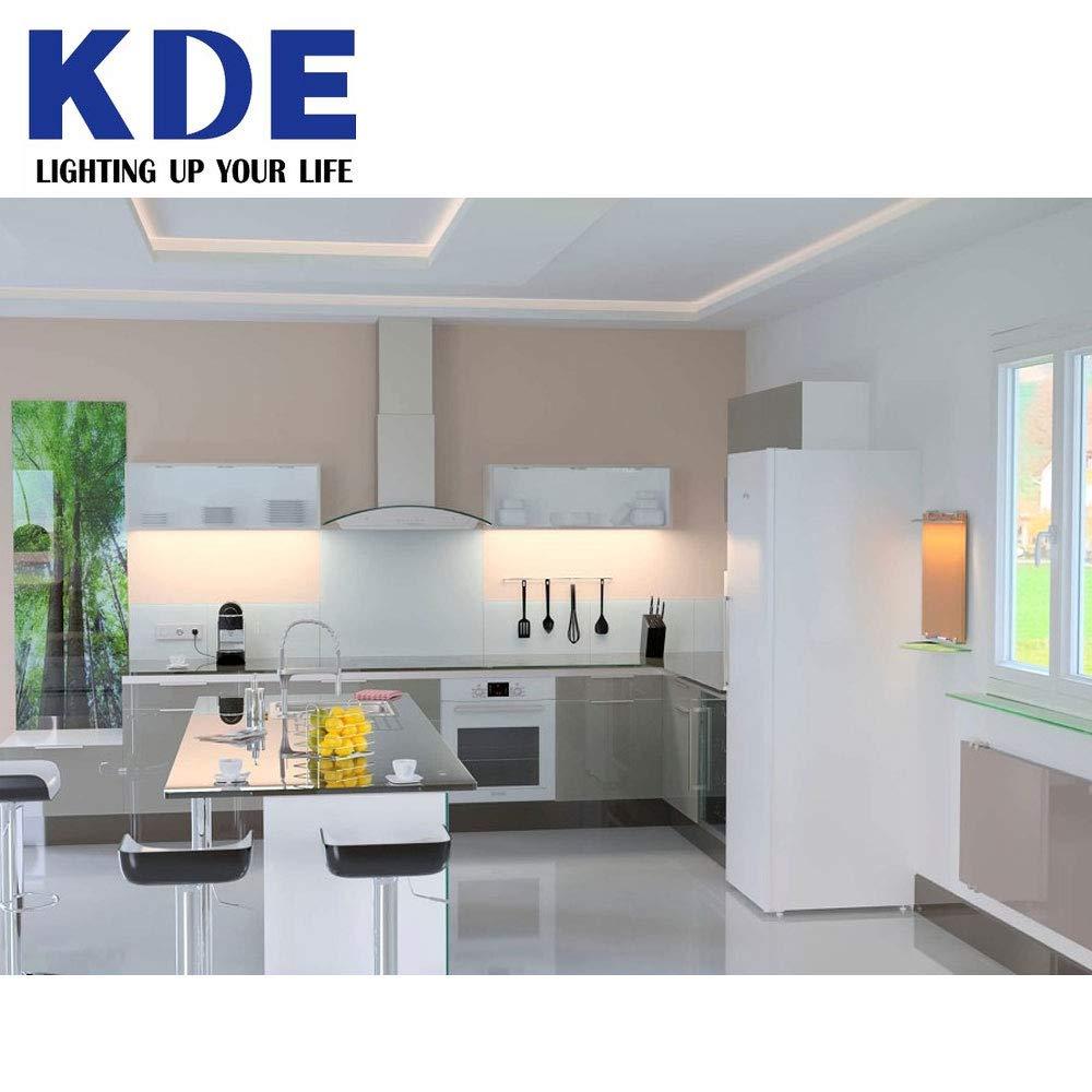 Pack 10 Bombillas LED - KDE 911367 Bombilla LED 2U G24 G24D-3 14W=140W LUZ DÍA 6500K 1400Lm [Clase de eficiencia energética A+]: Amazon.es: Iluminación
