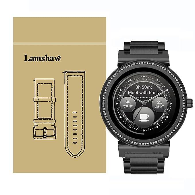 lamshaw Smartwatch banda de liberación rápida para Michael Kors ...