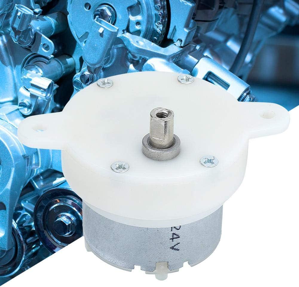1 St/ück 12 V langsame Drehzahl MAGT Getriebemotor 0,043 A kleines Getriebemotorgeh/äuse mit stummgeschaltetem Schaltgetriebe verschlei/ßfest ger/äuscharm 10 U//min DC-Getriebemotor