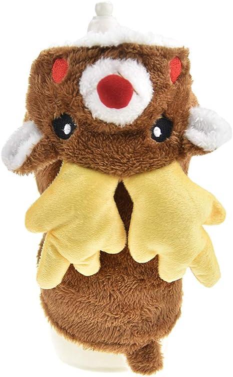 FLAdorepet - Disfraz de Reno navideño para Perro o Gato con ...