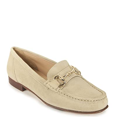 275 Central - 3223 - Women's Suede Loafer with Buckle
