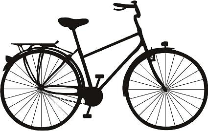 Pedal bicicleta antigua arte de pared transporte etiqueta 02 ...