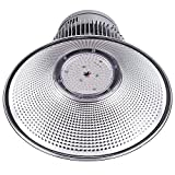 DELight 150W 18'' LED High Bay Light 16000lm 6000K-6500K with Heat Sink Factory Houseware Industry Lighting Feature