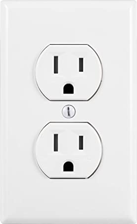 Ge Grounding Duplex Outlet In Wall Receptacle Tamper Resistant