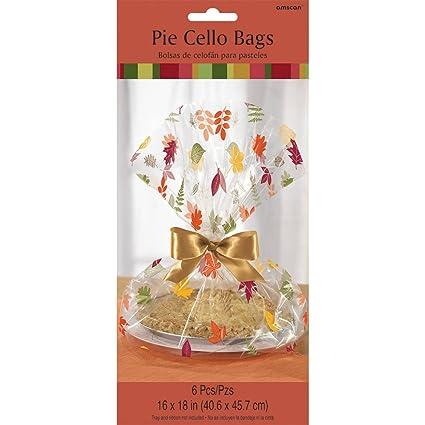 Amazon.com: Fall Pie Cello Bags (6ct): Toys & Games