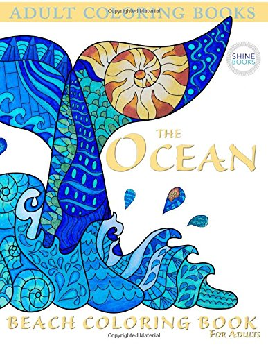 Adult Coloring Books: The OCEAN: Beach Coloring Book For Adults ...