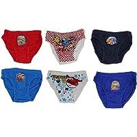 Ropa Interior Super Wings para niños, Bragas de algodón 100% con los héroes voladores, Aviones Donnie, Jett y Jerome en…