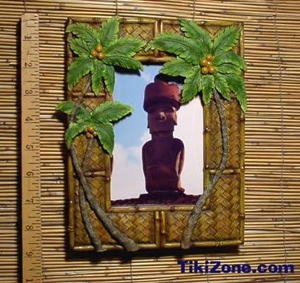Amazon Palm Tree Picture Frame Tiki Bar Single Frames