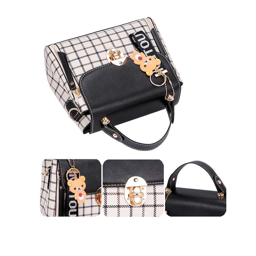 TOTZY Women Crossbody Purse Faux Leather Handle Shoulder Satchel Clutch Bags Organizer