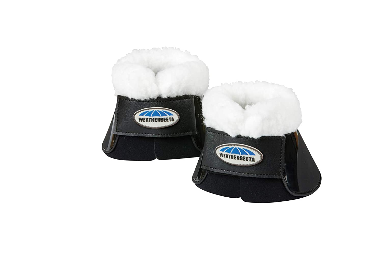 Black Cob Black Cob Weatherbeeta, Fleece Trimmed Impact Bell Boots,