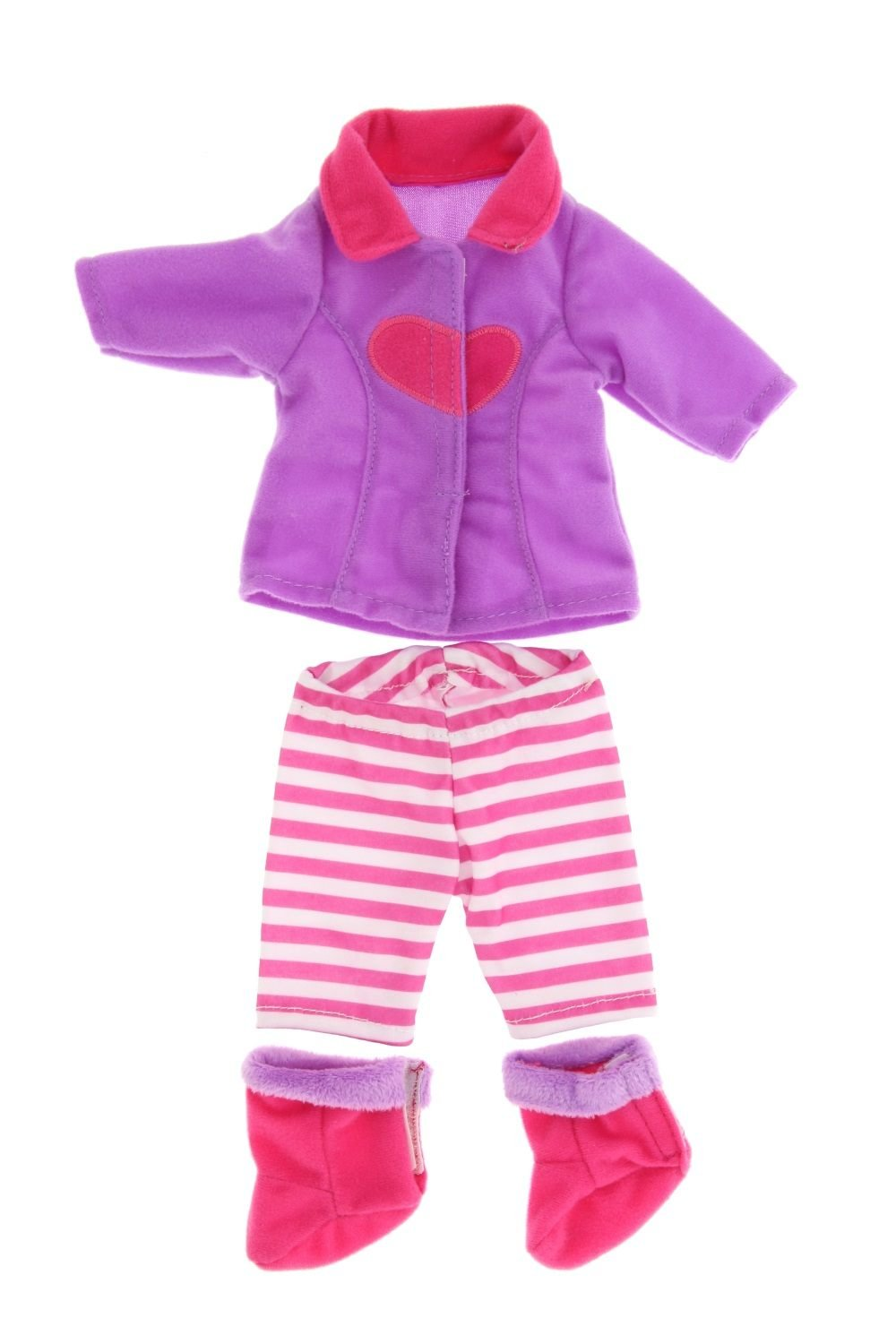 Baby Alive Pretty Lil Fashion Clothing Set Features 3 Outfits Makes Perfect Accessories for your 30-35cm Dolls