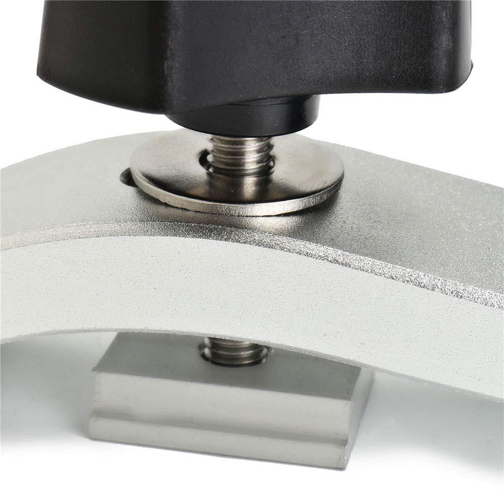Kit de metal DIY de 8 mm Mantenga presionadas las herramientas de carpinter/ía de acci/ón r/ápida para la ranura en T T-Track