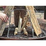 Amazon Com Firease Incinergrate S5000 Vertical Fire Pit Grate Garden Outdoor