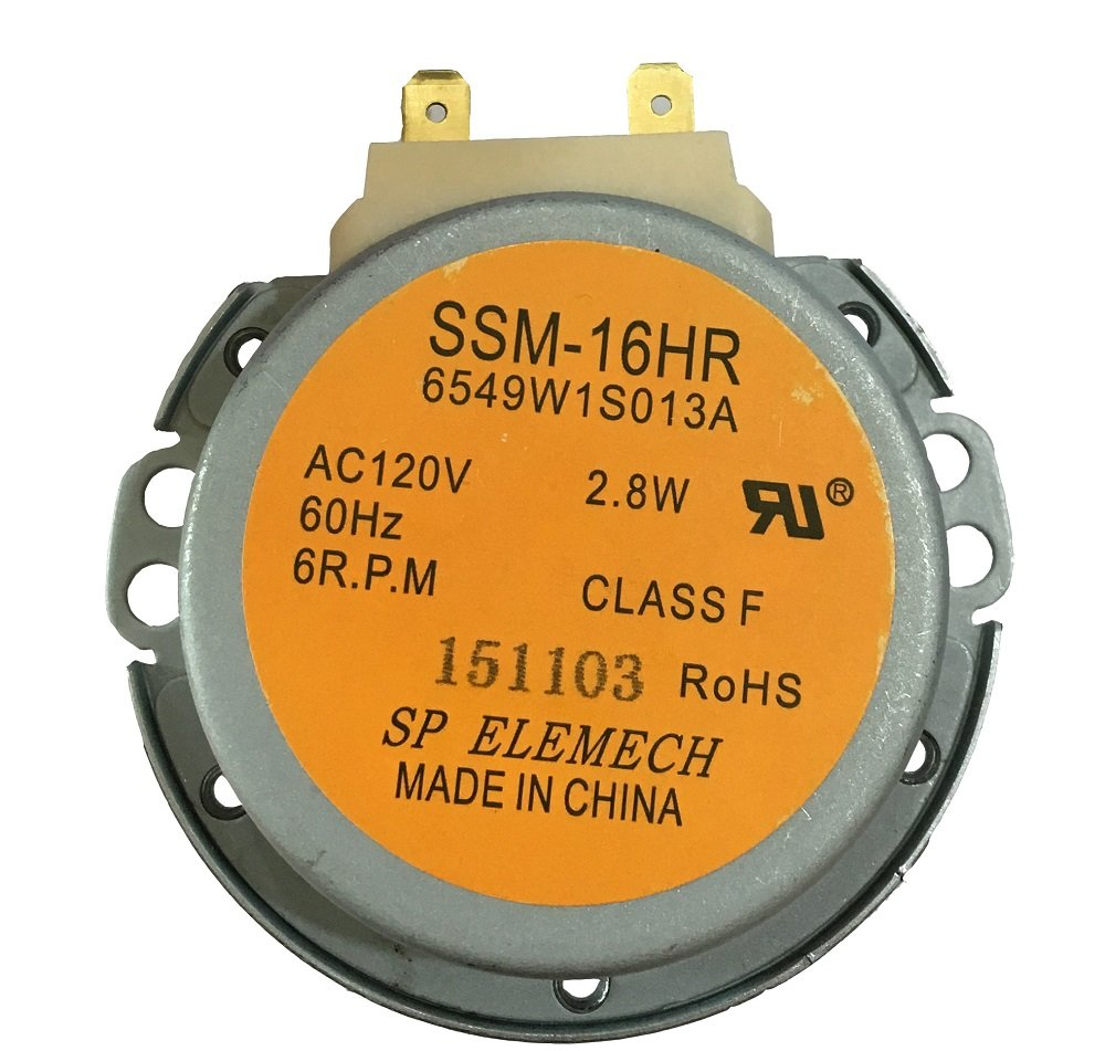 6549W1S013K Microwave Oven Turntable Synchronous Motor