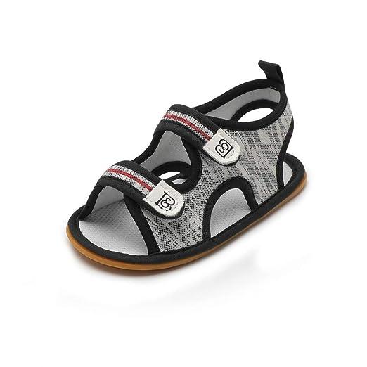 Amazon.com: Sandalias de bebé para niños, zapatos romanos ...