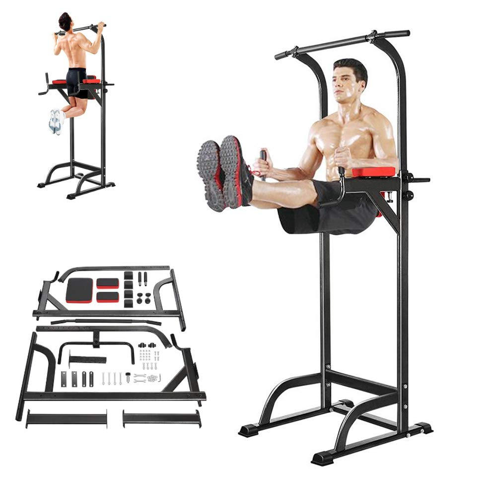 SVNA Pull-Up Rack Multi-Function Pull-Ups 1.8-2.3 Meters Adjustable Load-Bearing 200 Kg Suitable for Adult Home Gym Strength Training