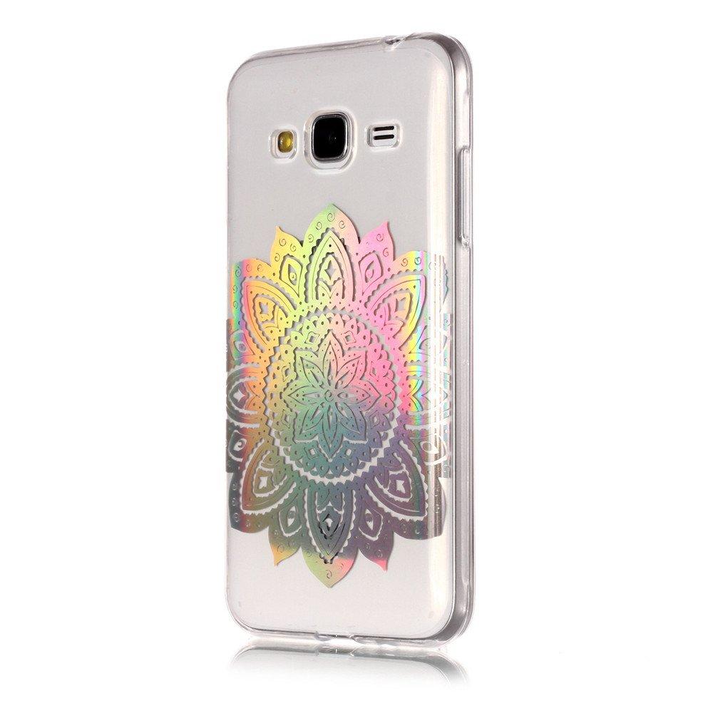 Galaxy J5 -2 2015 MHHQ Kristall Funkeln Glitzer Holographic Laser Handyh/ülle Ultra D/ünn Schutzh/ülle Silikon Transparent mit Muster Weich TPU Case Backcover f/ür Samsung Galaxy J5 2015 H/ülle